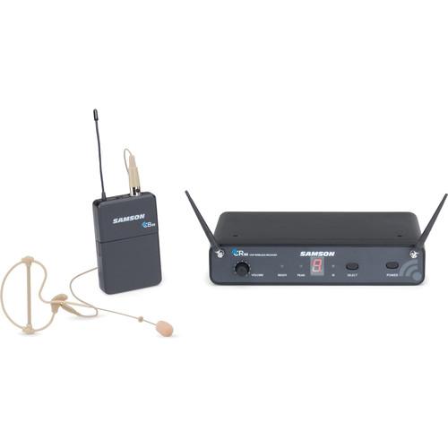 Samson Concert 88 SWC88BCS 16-Channel True Diversity Headset Wireless System (UHF C-Band)