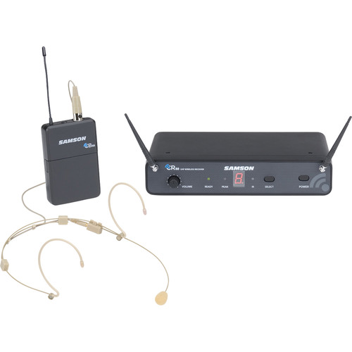 Samson Concert 88 Micro Headset 16-Channel True Diversity UHF Wireless System (D: 542 to 566 MHz)
