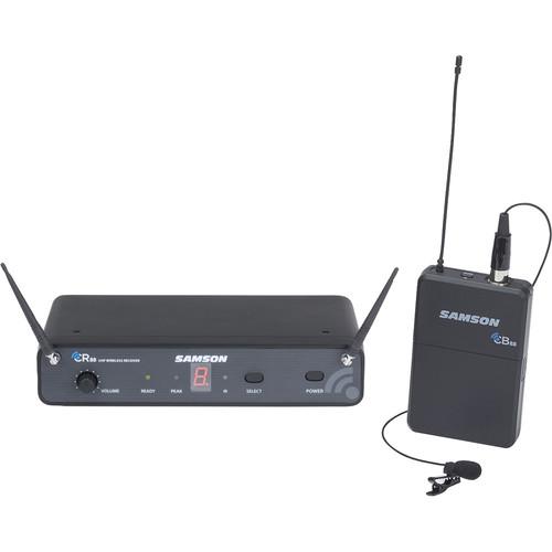 Samson Concert 88 Lavalier UHF Wireless Microphone Presentation System (K: 470 to 494 MHz)