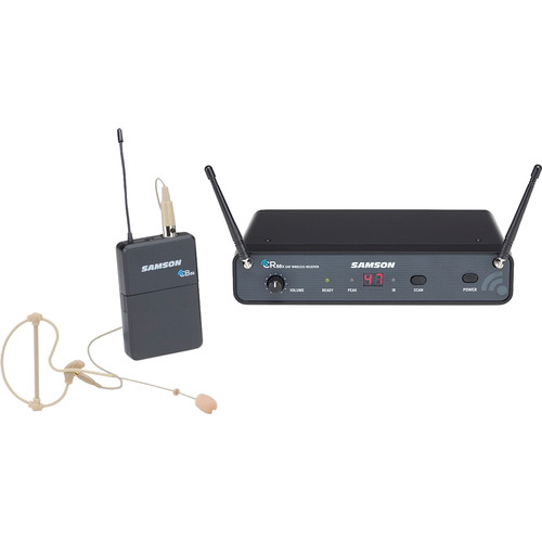 Samson Concert 88x Earset UHF Wireless System with SE10 Earset Mic (K: 470 to 494 MHz)