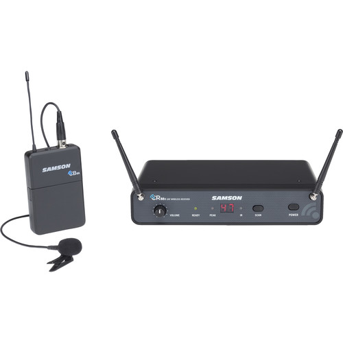 Samson Concert 88x Wireless Lavalier Microphone System with LM5 Lav (K: 470 to 494 MHz)