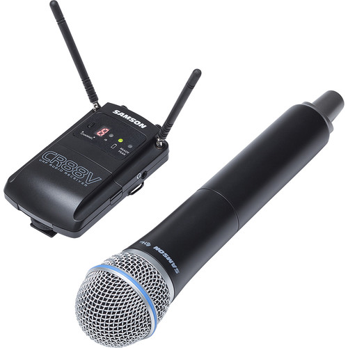 Samson Concert 88 Camera Handheld Frequency-Agile UHF Camera Wireless System (K: 470 to 494 MHz)