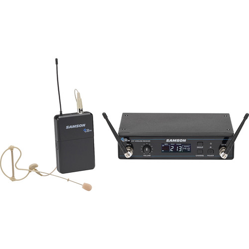 Samson Concert 99 Earset Frequency-Agile UHF Wireless System (D: 542-566 MHz)