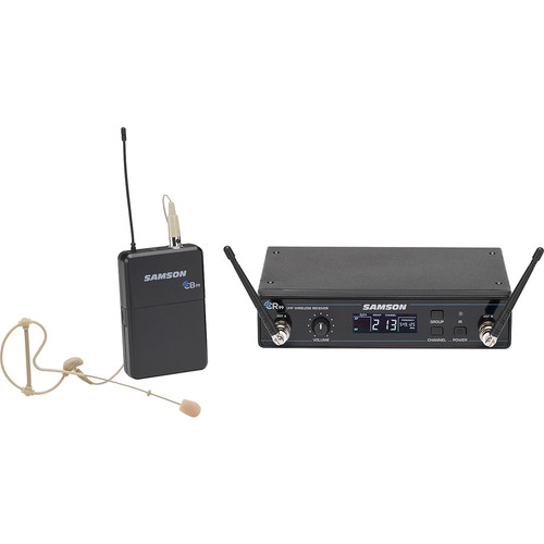 Samson Concert 99 Earset Frequency-Agile UHF Wireless System (K: 470-494 MHz)