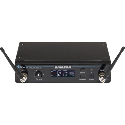 Samson CR99 Concert 99 Wireless Receiver, No Adapter (K: 470 to 494 MHz)