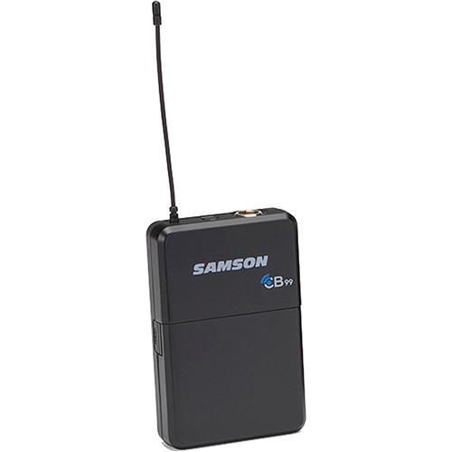 Samson CB99 Concert 99 Frequency-Agile UHF Beltpack Transmitter (D: 542 to 566 MHz)