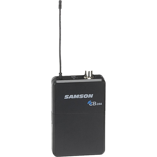 Samson CB288 Beltpack Transmitter for Concert 288 Wireless System (Band H, Channel A)