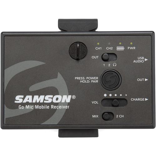 Samson SWGMMR Go Mic Dual-Channel Receiver