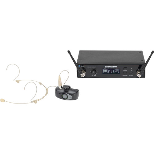 Samson Airline AHX Wireless UHF Headset System (K: 470 to 494 MHz)