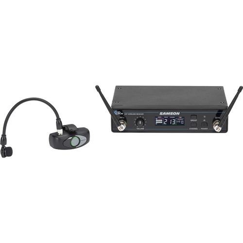 Samson AWX Wind Instrument Micro Transmitter UHF Wireless System (K: 470 to 494 MHz)