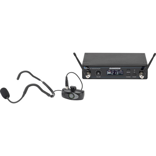 Samson AirLine AHX Wireless UHF Fitness Headset System (K: 470 to 494 MHz)