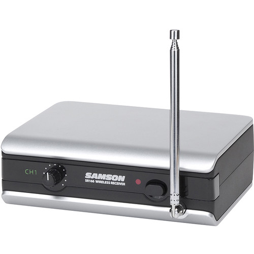 Samson SR 166 VHF Receiver for Stage v166 Wireless Microphone System (Channel 9)