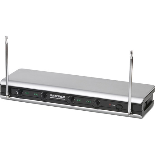 Samson Quad-Channel VHF Receiver for Stage V466 Wireless System (Group A)
