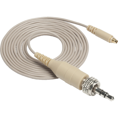 Samson Replacement Headset Cable with Locking 3.5mm Bayonet (Tan)