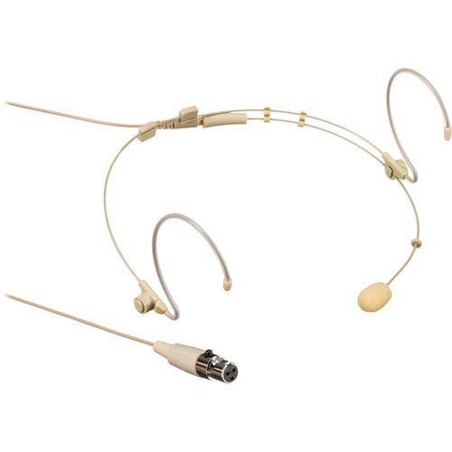 Samson DE10 Omnidirectional Headset Microphone with TA3F Connector (Tan)