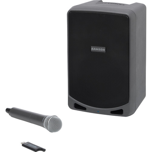 Samson Expedition XP106w Portable PA System with Wireless Handheld Mic System & Bluetooth