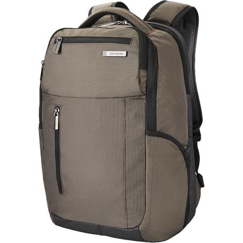Samsonite Tectonic Cross Fire Backpack (Green/Black)
