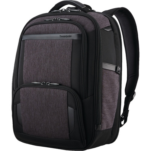 Samsonite Pro Slim Backpack (Shaded Gray/Black)