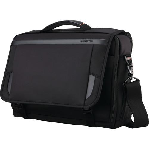 "Samsonite Pro 15.6"" Slim Messenger Bag (Black)"