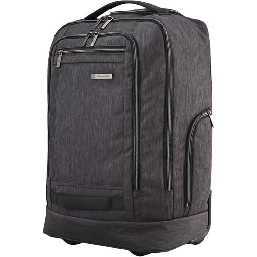 Samsonite Modern Utility Convertible Wheeled Backpack (Charcoal Heather)