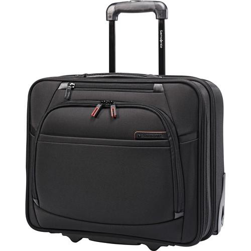 Samsonite Pro 4 DLX Vertical Spinner Mobile Office Case (Black)