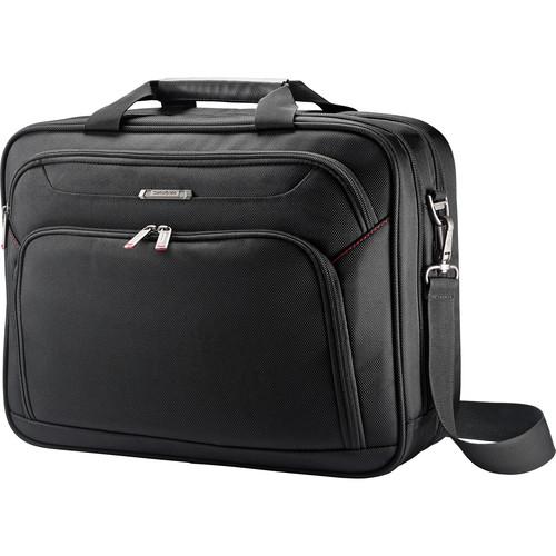 Samsonite Xenon 3.0 Two-Gusset Toploader Briefcase (Black)