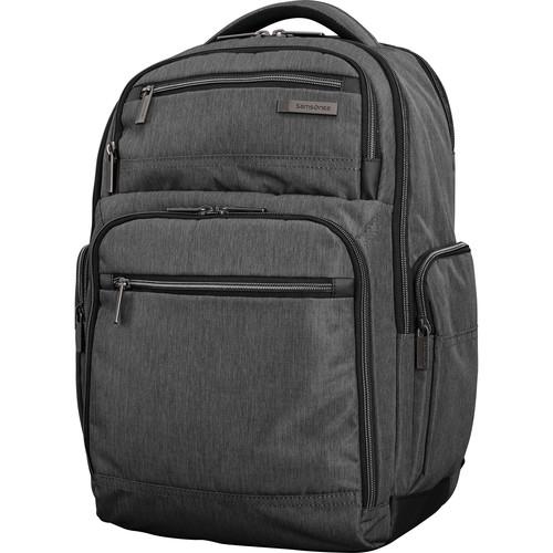 Samsonite Modern Utility Double Shot Backpack (Charcoal/Heather)