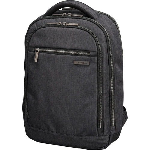 Samsonite Modern Utility Small Backpack (Charcoal Heather/Charcoal)