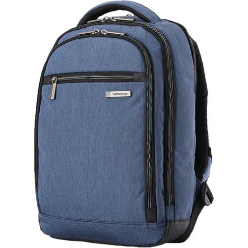 Samsonite Modern Utility Small Backpack (Blue Chambray)