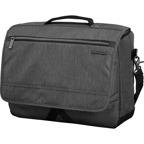 Samsonite Modern Utility Messenger Bag (Charcoal Heather/Charcoal)