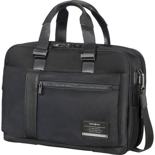 Samsonite Expandable Openroad Laptop Briefcase (Jet Black)