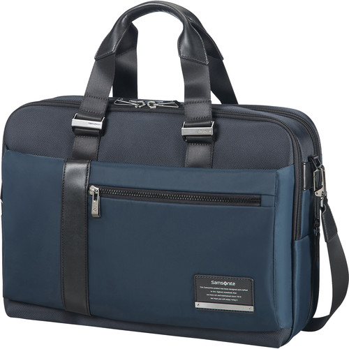 Samsonite Expandable Openroad Laptop Briefcase (Space Blue)