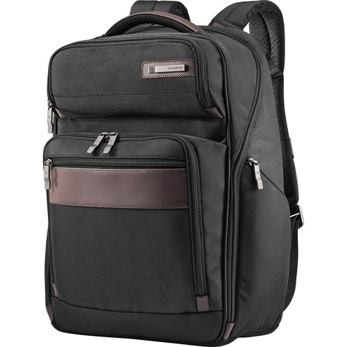 Samsonite Kombi Large Backpack (Black/Brown)