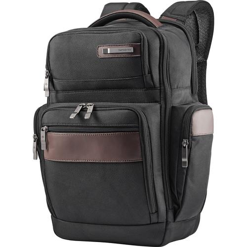 Samsonite Kombi 4 Square Backpack (Black/Brown)