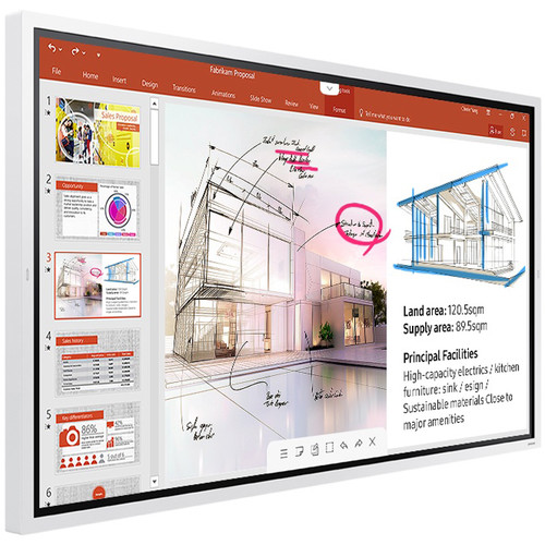 "Samsung 65"" Flip 2 InGlass Touch Display"