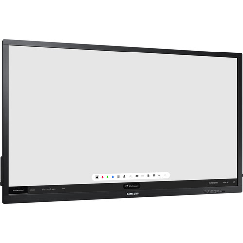 """Samsung QB75N-W 75"""" Class 4K UHD LED Conference Room Touchscreen LED Display"""