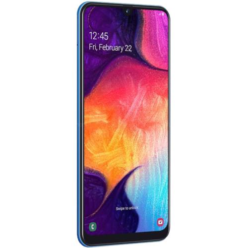 Samsung Galaxy A50 SM-A505G Dual-SIM 64GB Smartphone (Unlocked, Blue)