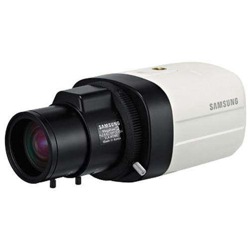 Hanwha Techwin Beyond Series SCB-5005 1280H 1000 TVL WDR Box Camera (NTSC, No Lens, Black and Silver)