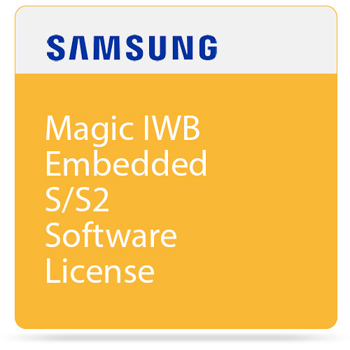 Samsung Magic IWB Embedded S/S2 Software License