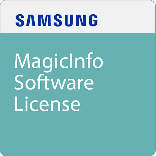 Samsung MagicInfo Software License