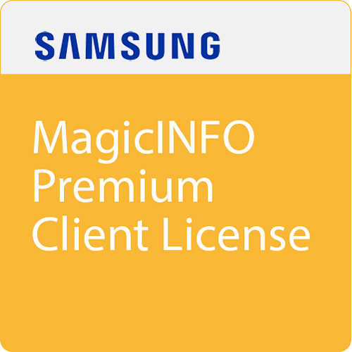 Samsung Magicinfo Premium Client License for Samsung Android Tablets