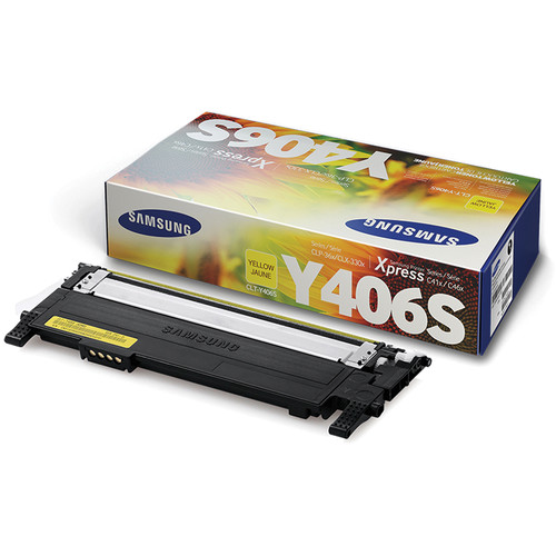samsung clt y406s yellow toner cartridge clt y406s xaa b h photo. Black Bedroom Furniture Sets. Home Design Ideas