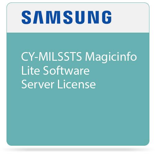 Samsung CY-MILSSTS Magicinfo Lite Software Server License