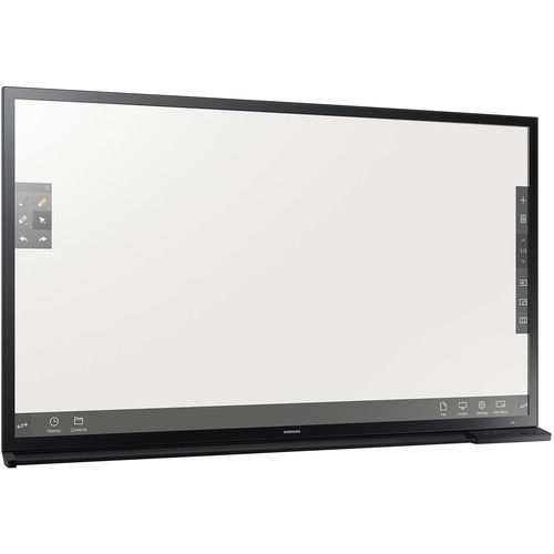 """Samsung DM65E-BC 65"""" e-Board Display with 10-Point Touch & Drawing Capability"""