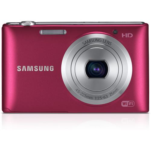 Samsung ST150F Smart Digital Camera (Red)