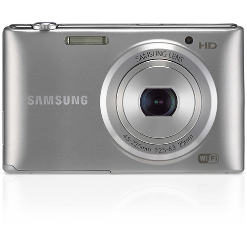 Samsung ST150F Smart Digital Camera (Silver)