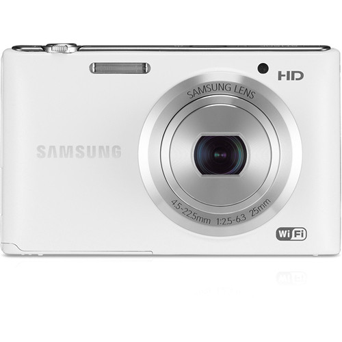 Samsung ST150F Smart Digital Camera (White)