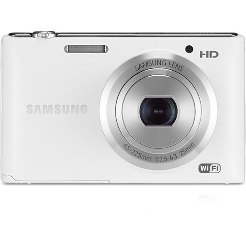 Samsung ST150F Smart Digital Camera (White)