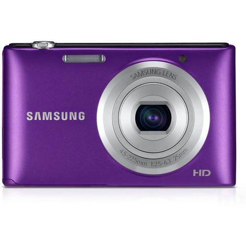 Samsung ST72 Digital Camera (Purple)