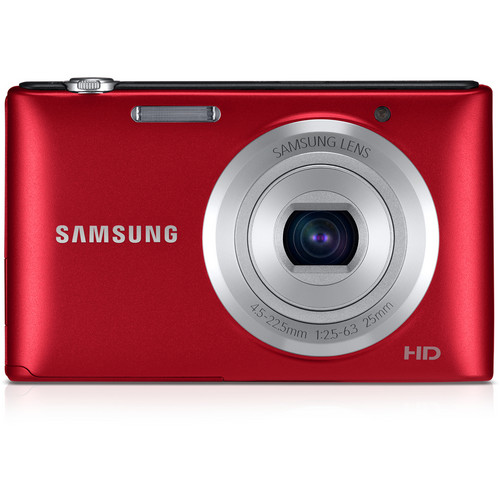 Samsung ST72 Digital Camera (Red)